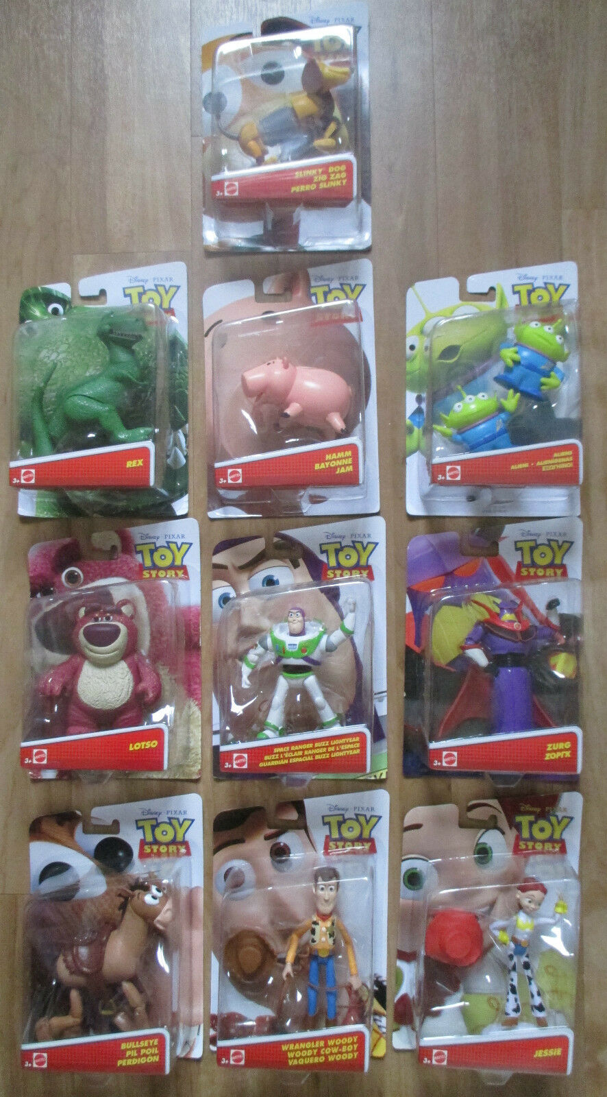 Toy Story Figures Full Set of 10 including Hamm ALL BRAND NEW