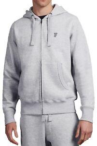 64042fd9b French Connection Zip Up Hoodie Mens Sweatshirt Hood Sweat Top Grey ...