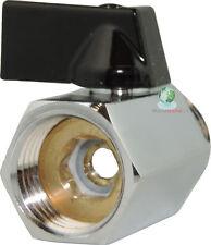 Shower Head Shut-Off Flow control Valve Bidet Sprayer Water Saver metal brass