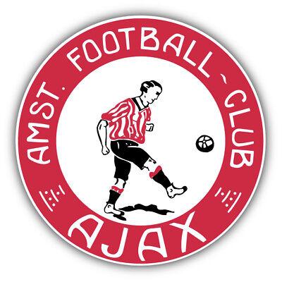 Ajax Amsterdam Soccer Football Art Decor Vinyl Sticker 5 X 5