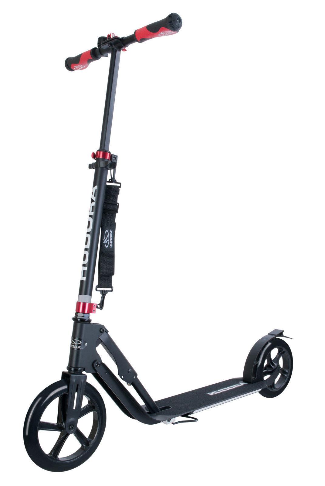 Hudora Big Wheel Air 230 Scooter mit Luftreifen Roller