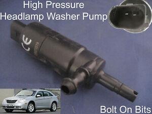 Scheinwerfer / Spray Reinigung Waschanlage Pumpe Chrysler Sebring 2007 Zu 2010
