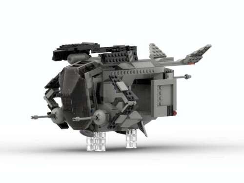 Lego Star Wars MOC.Imperial patrol ship.Only PDF instruction