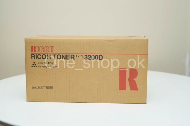 Genuine Ricoh Colour Type 3200D Black Toner 887726