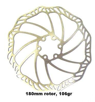 SchöN Promax Ultra Light 180mm Stainless Disc Brake Rotor, Average 106gr Farben Sind AuffäLlig