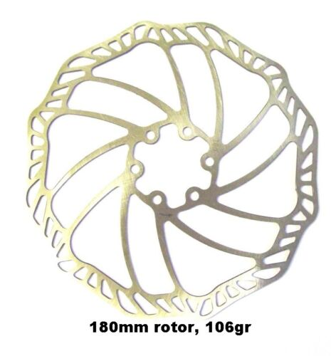 180 Ultra light 410 stainless MTB disc brake rotors 140 160 203 mm