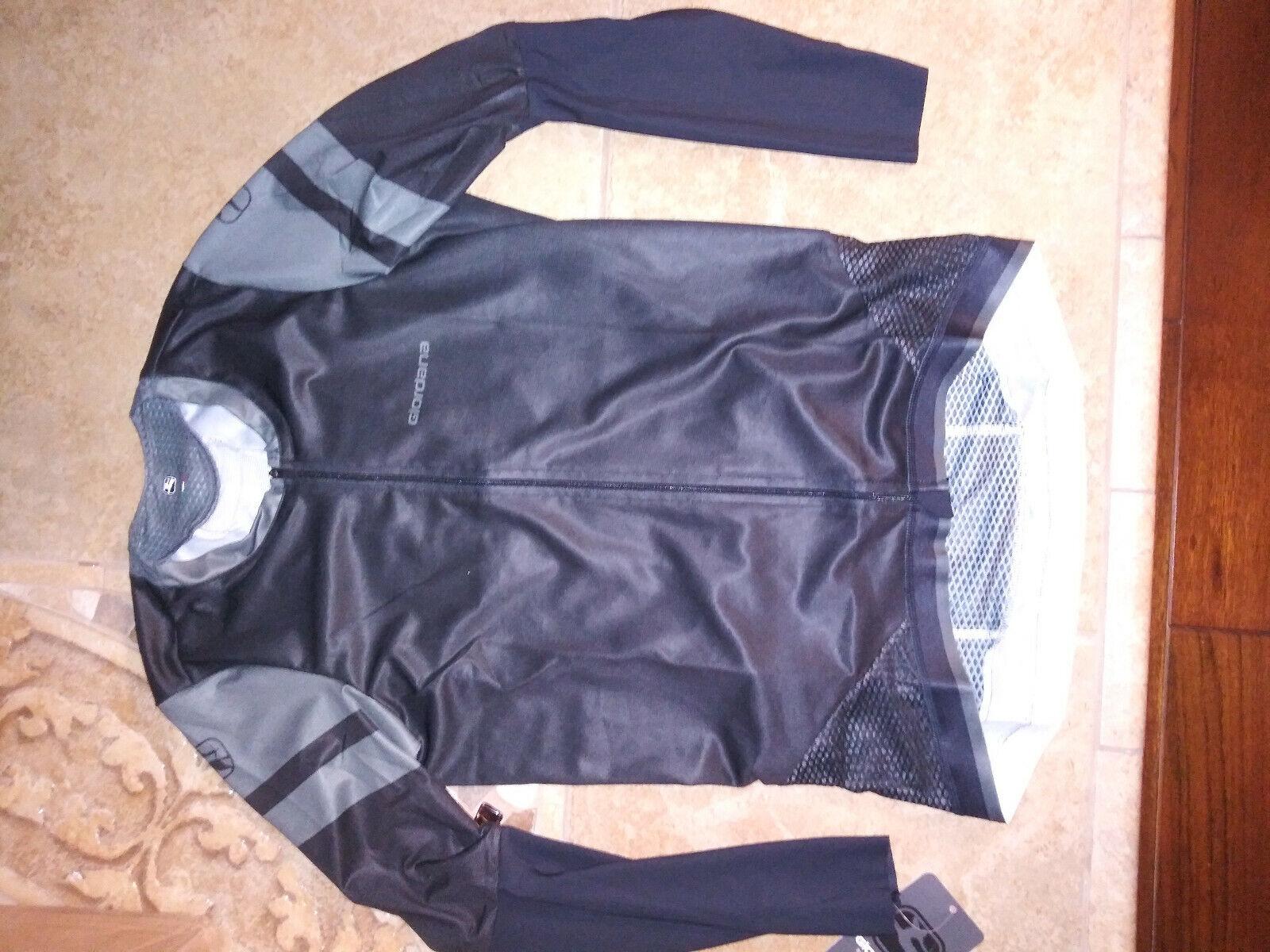 NEW  257 Mens Giordana EXO System Long Sleeve Cycling Jersey, Größe M