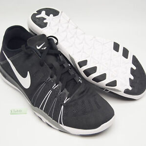 ea7acc662ae5 NIKE TR6 Womens 10.5 Training Running Shoes Black White Gray NEW ...