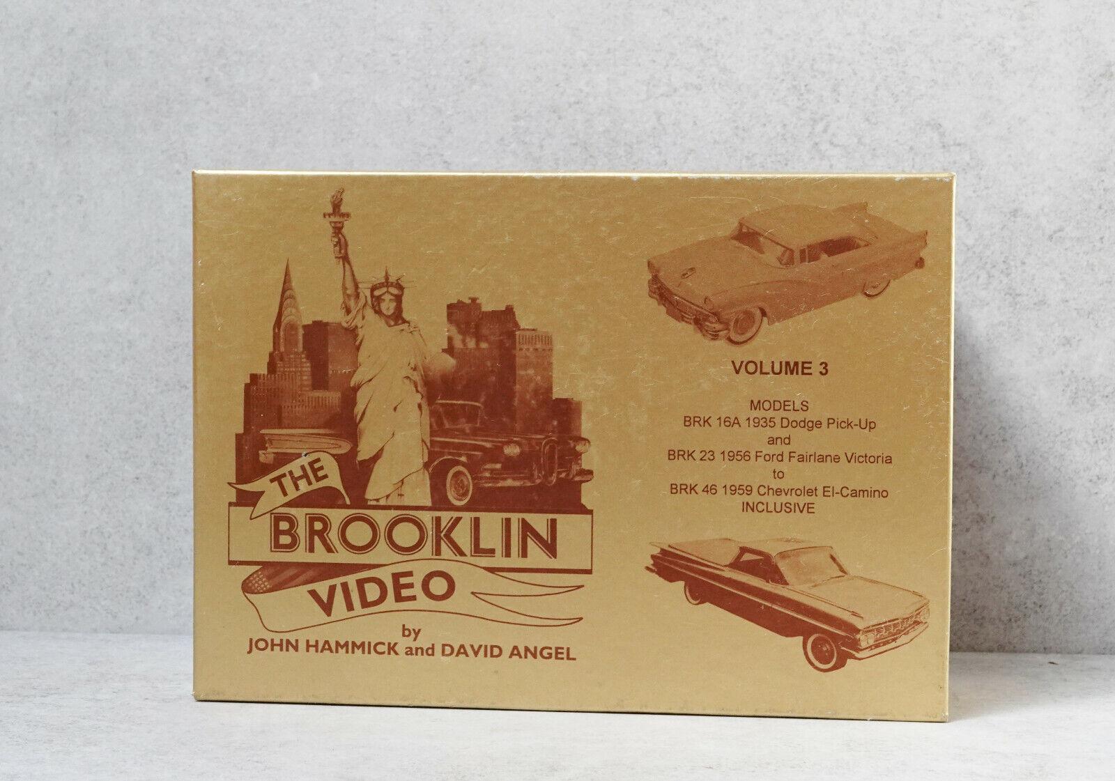 Brooklin models The Brooklin Video BRK 46 1959  Chevrolete El Camino NEW RARE