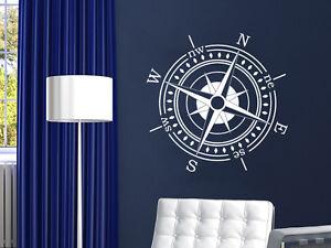 Details About Comp Wall Decal Rose Nautical Vinyl Sticker Navigation Decor Ns886