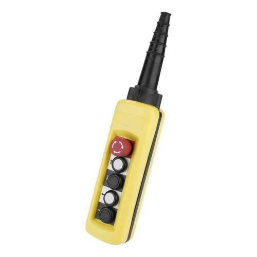 Hängetaster Kransteuerung Steuerflasche Kranschalter 5A  500V IP54 Handsteuerung