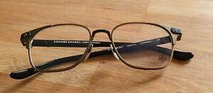 Chrome Hearts Gitnhed Eyeglasses in Black & Gold