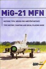 "JBr Decals 1/144 MIKOYAN MiG-21 FISHBED ""NATO FISHBEDS"" CZECH AF wih Photo Etch"