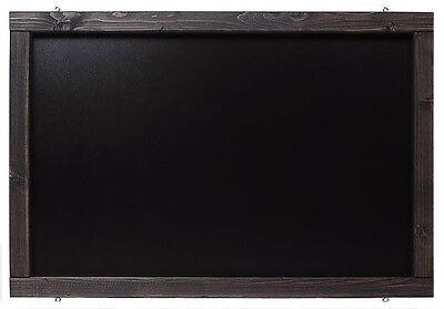 Rustikale Kreidetafel, Wandtafel, Werbetafel, Schreibtafel, Tafel in Schwarz