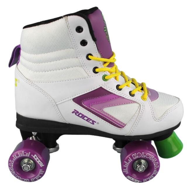 Women's Purple Roces Skates 39 Roller White Size Yellow Kolossal 4q3Lj5AcR