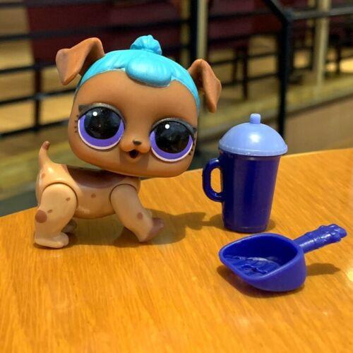 LOL Surprise Doll PETS Series 3 P-034 B.B Pup CATNAP Brown Dog Puppy Figure sd