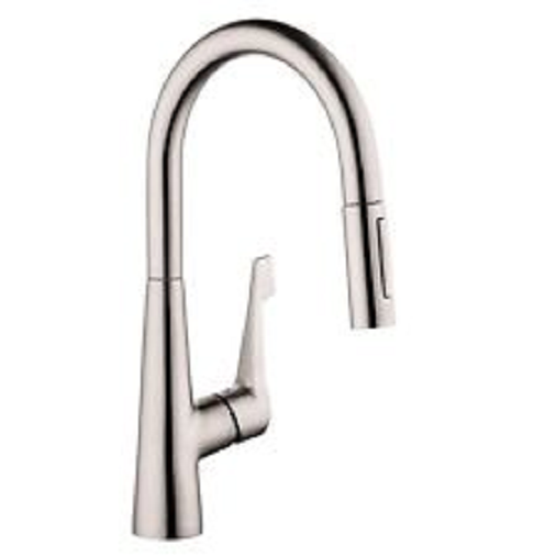 hansgrohe talis m pull down kitchen faucet swivel 2 function spray rh ebay com hansgrohe talis m kitchen faucet reviews hansgrohe talis m kitchen faucet reviews