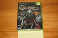 Castlevania: Curse Of Darkness (xbox) Sealed Black Label Y-fold W/upc, Mint