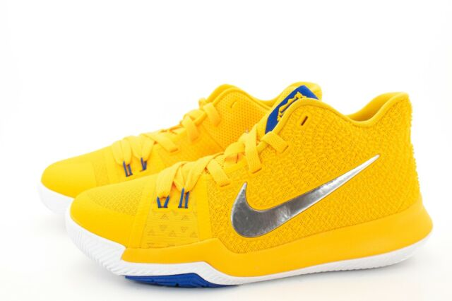 huge selection of 21d6b 696cc Nike Kyrie 3 Mac and Cheese Yellow Basketball Shoes 859466-791 Youth Size  6.5Y