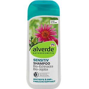 Shampooing Cheveux & Cuir Chevelu Sensibles - Echinacea et Jojoba Bio - ALVERDE
