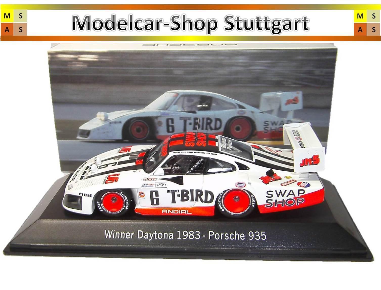 Porsche 935  - Gagnant Daytona 1983 - Spark 1 43 - MAP02028314 - Neuf  vente discount en ligne