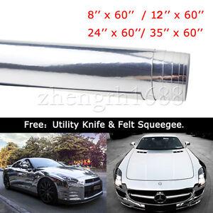 Auto-Car-Body-Vehicle-Protective-Mirror-Chrome-Vinyl-Film-Sticker-Wrap-Decal