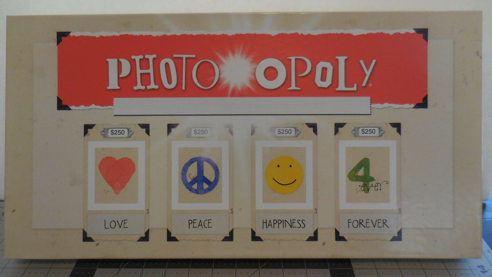 Photoopoly Monopoly Style Board Game Your Your Life Your Photos