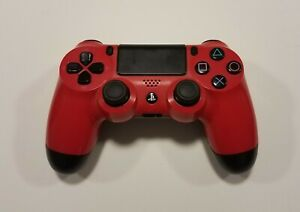 Sony-DualShock-4-Wireless-Controller-PS4-Red-FOR-PARTS-OR-REPAIR-ONLY