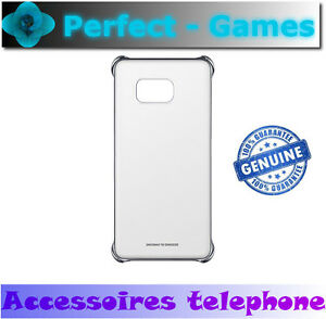 Samsung-galaxy-S6-Edge-plus-coque-transparente-case-clear-cover-argent-silver