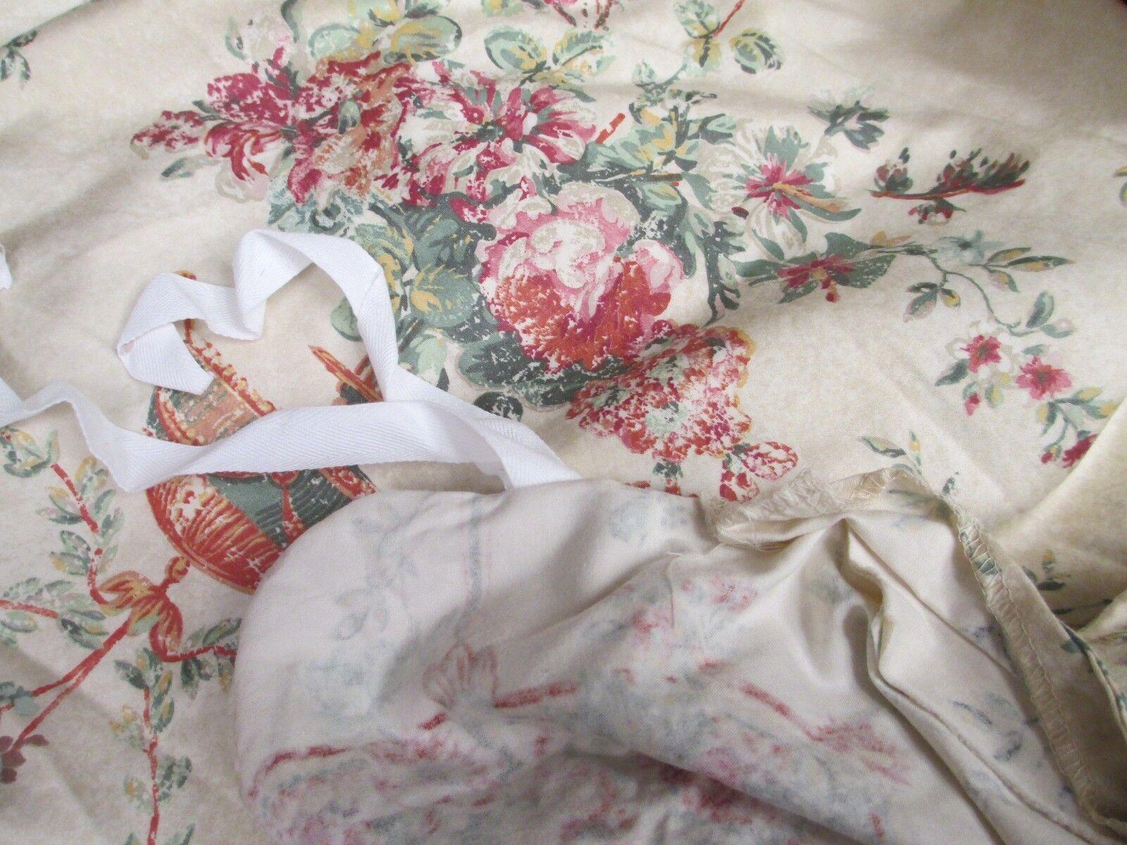 Ralph Lauren VILLANDRY Floral Duvet Comforter Cover - King