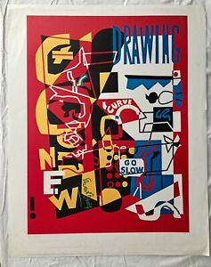 AMAZING-VINTAGE-POP-ART-PRINT-POSTER-BY-STUART-DAVIS-COMBINATION-CONCRETE