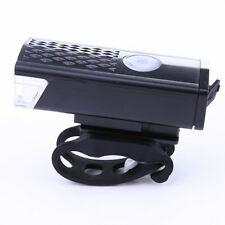 300LM 3 Mode Bike Front Head Light Bicycle LED Lamp USB Rechargeable Gear UK