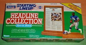 1991 BARRY SANDERS Detroit Lions Headline Collection *FREE_s/h* Starting Lineup