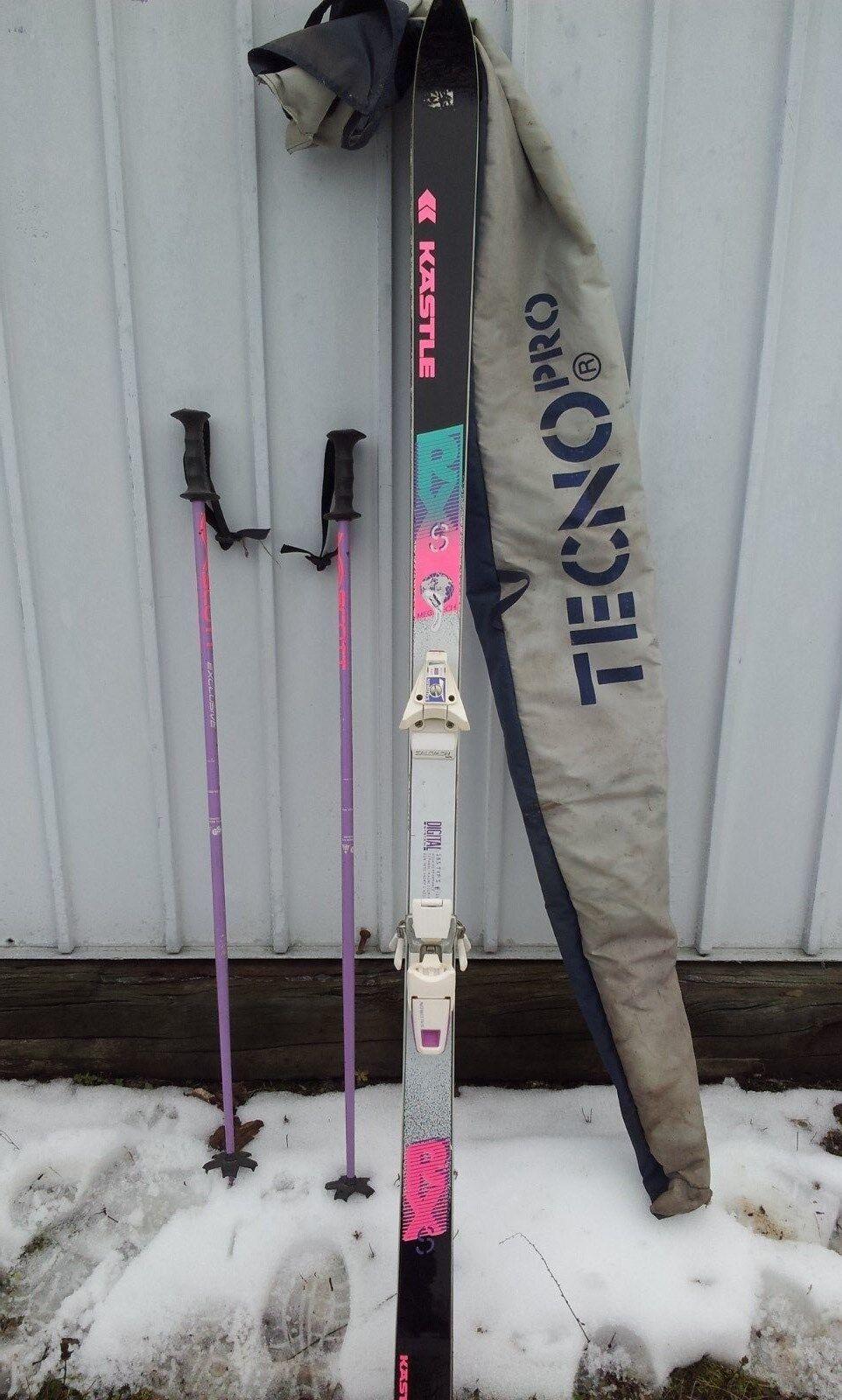 Ski Kästle RXS 185 cm Mit Ski-Stöcken und Tasche 1 x gefahren!!