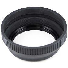 Retractable Rubber Lens Hood 43mm 43 mm