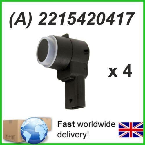 4 x Sensor de Aparcamiento PDC Mercedes Sprinter 3t 3,5 t 4.6 T 5t-a2215420417