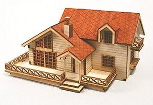 Garden House B Wooden Model Kit Ebay