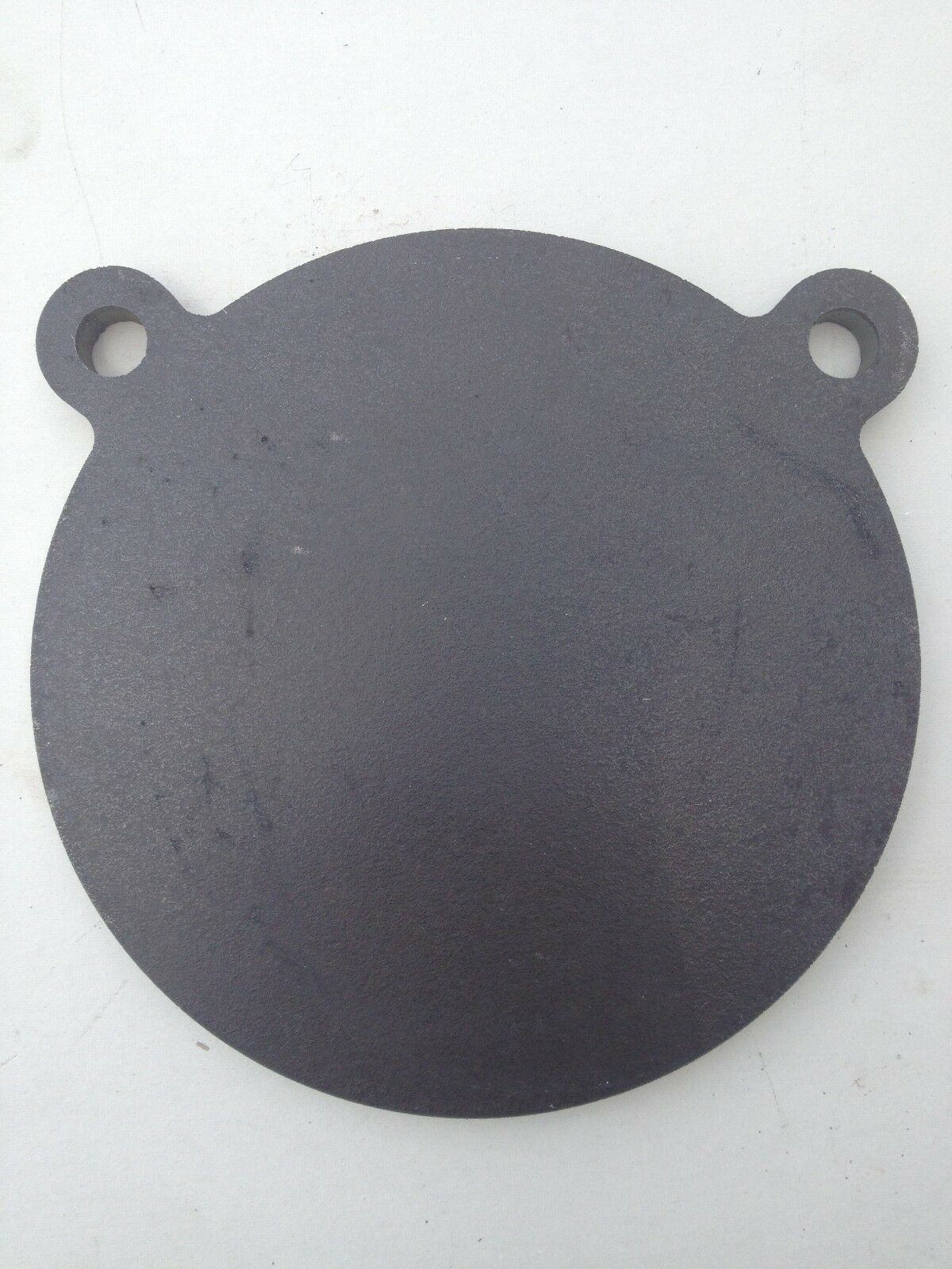 AR500 gong steel shooting target, 3/8