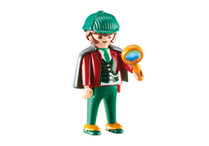 Playmobil-City-Life-Detective-con-Lupa-Ref-6525-Victoriano-Sherlock-Holmes