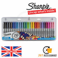 Sharpie 28 Pack / Count Fine Assorted Permanent Markers Pens Limited Edition Set