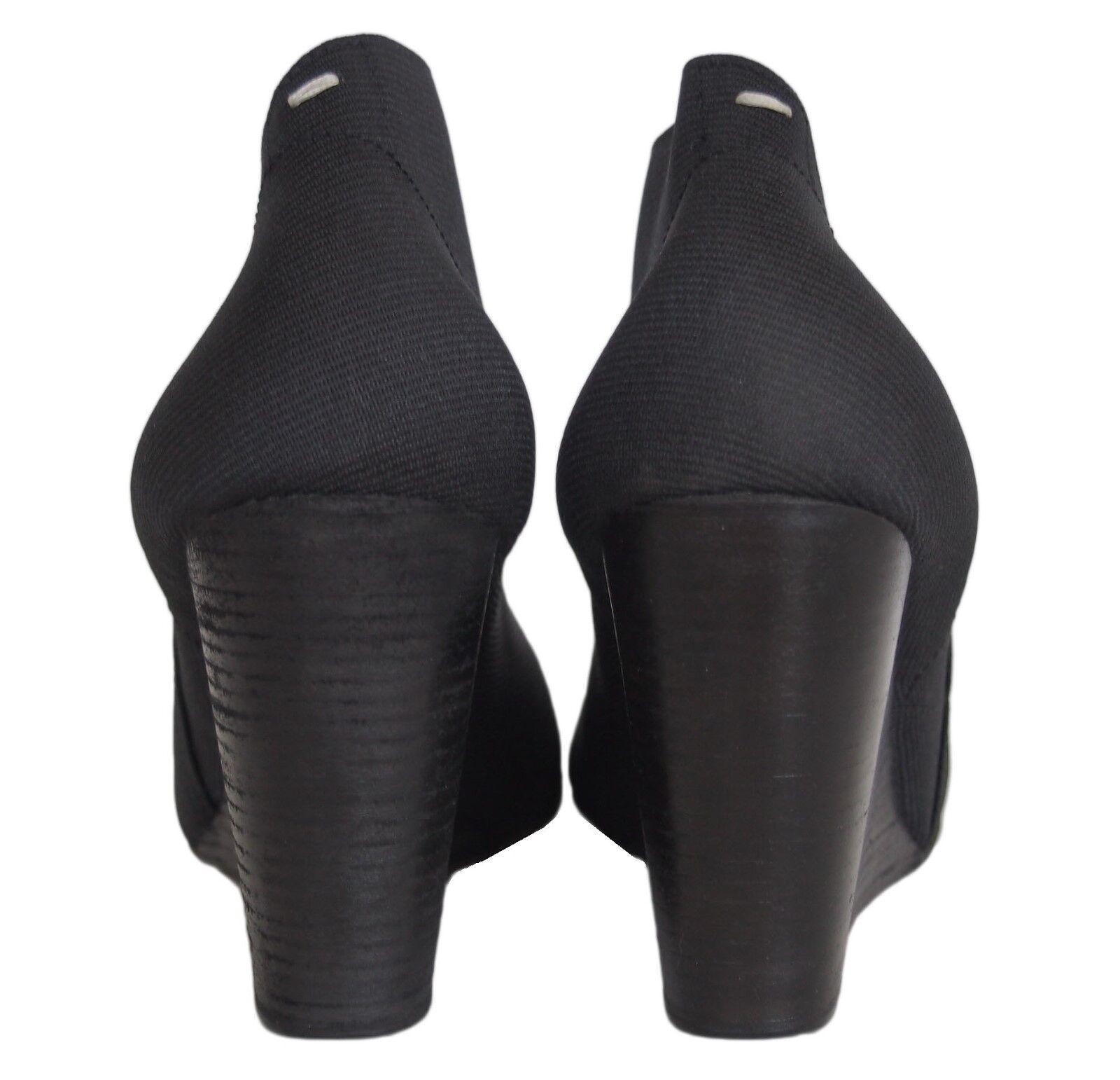 Maison Martin Margiela Women's Wedge Shoes Black … - image 6