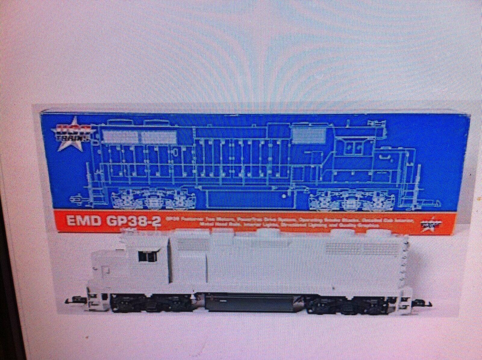 a la venta USA Trains Trains Trains GP38-2 Escala G Locomotora Diesel R22200 sin pintar, los iletrados-gris  ventas en linea