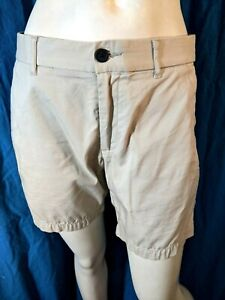 DEVRED  Taille 40 Superbe bermuda beige homme short pantacourt