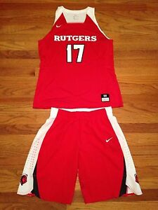 the latest 7699d 32318 Details about Nike Rutgers Knights Basketball Game Women's M Hyperelite  Jersey Shorts 867774