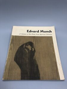 Edvard Munch Book A Collection Of His Prints From American Collections Cool!