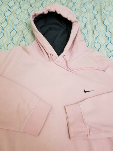 Vintage 90s Nike Pink Hoodie Sweatshirt Travis Sco