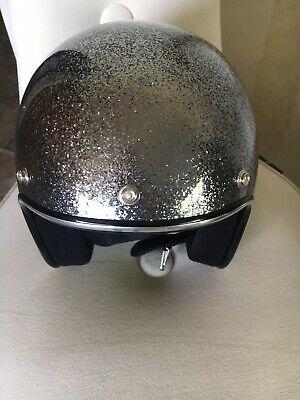 Erfinderisch Biltwell Helm Metall Flake Silber Mit Airbrush