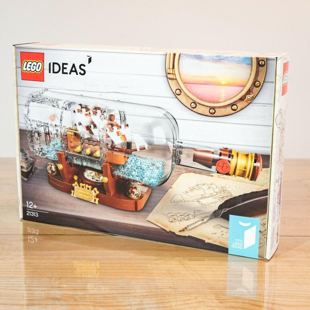 LEGO 21313 BATEAU EN BOUTEILLE IDEAS SET NEUF NEW
