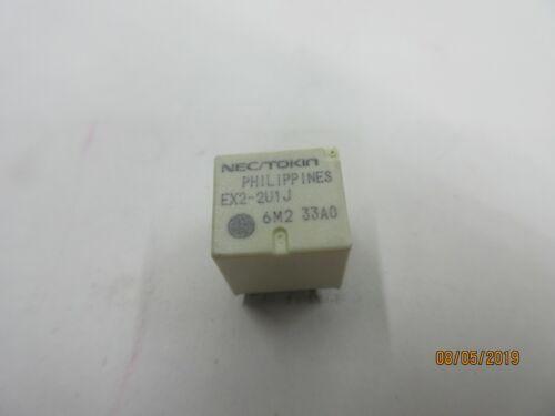 Lot of 5 NEC Relay Ex2-2u1j