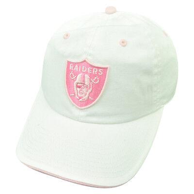 Fanartikel Pflichtbewusst Nfl Oakland Raiders Damen Castel Clip Schnalle Hut Kleidungsstück Waschen Locker 100% Garantie